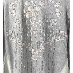 Sundance Tops - Sundance tunic top embroidered embellished Ruched
